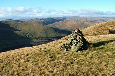 Photo from the walk - Blease Fell & Hare Shaw from Tebay