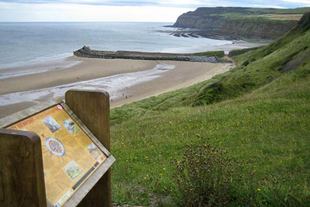 Photo from the walk - Saltburn and Skelton from Skinningrove