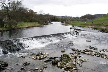 Photo from the walk - Garnshaw House & Linton Falls from Grassington