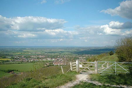 Photo from the walk - Cissbury Ring and Chanctonbury Ring from Steyning
