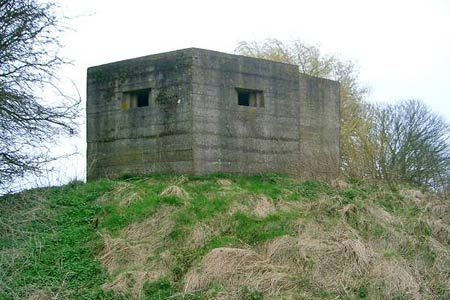Pillbox alongside the Royal Military Canal