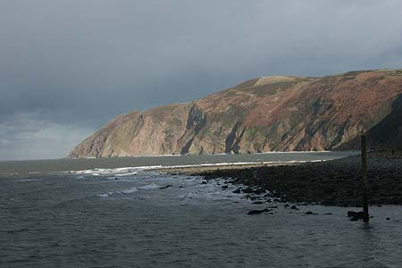 Foreland Point seen from Lynmouth