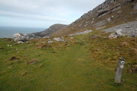 Path leading to summit of Great Orme