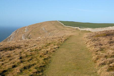 The green path along the cliffs - Great Orme