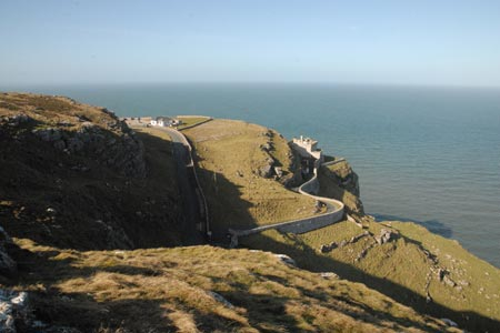 The lighthouse on the northern coast of the Great Orme