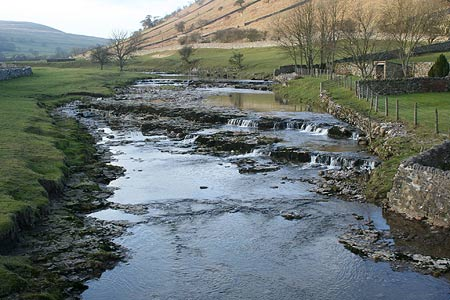 Littondale & River Skirfare from Litton Footbridge
