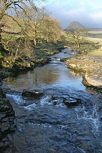 Littondale & River Skirfare from Skirfare Bridge
