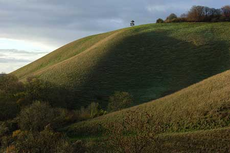 Photo from the walk - Pewsey Downs from Wootton Rivers