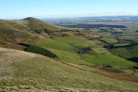 Photo from the walk - Scald Law and Pentland Hills Ridge from near Penicuik
