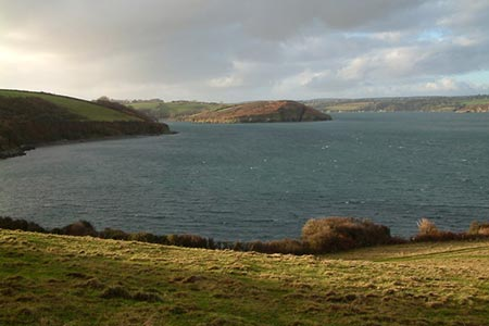 Photo from the walk - Gillan & Nare Point from Porthallow