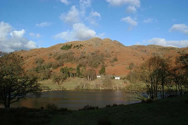 Photo from the walk - Loughrigg from Pelter Bridge near Rydal