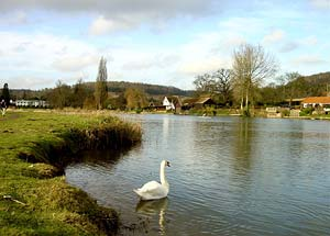 Photo from the walk - River Thames & Hambleden from Henley-on-Thames