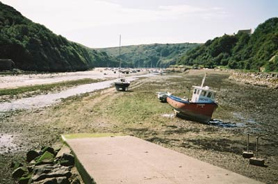 Solva harbour & Cribyn ridge