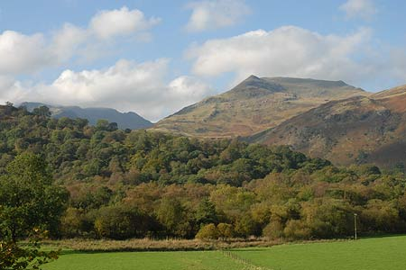 Photo from the walk - The Angletarn Pikes and Brock Crags from Hartsop