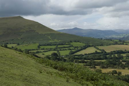 Photo from the walk - Waun Fach & Y Grib from Pengenfford (Castell Dinas)