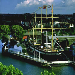 SS Great Britain was first iron ship to cross Atlantic