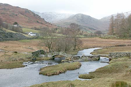 Photo from the walk - Tilberthwaite and Holme Fell from Little Langdale