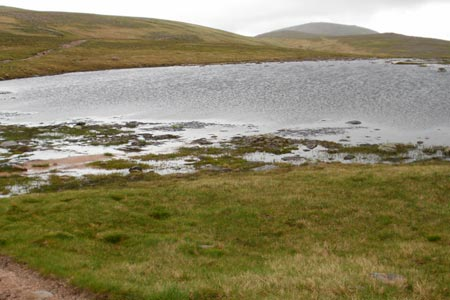 Lochan Buidhe is passed on the way to Ben Macdui