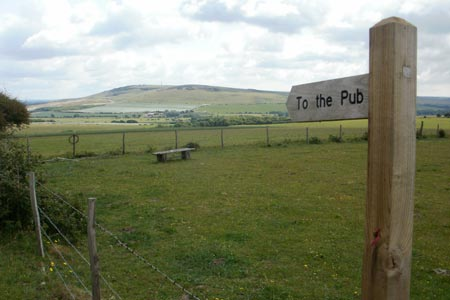 Photo from the walk - Southease, Ditchling Beacon & Lewes