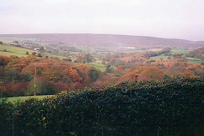 Photo from the walk - Flask Edge from Dronfield Woodhouse