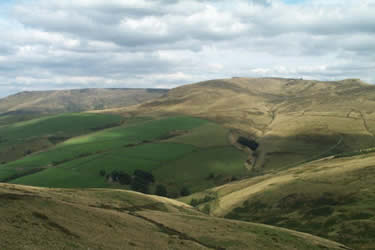 Photo from the walk - South Head & Edale Cross from Hayfield
