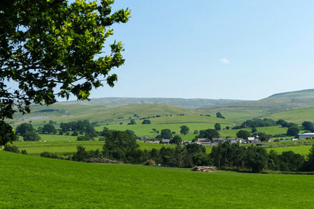 Photo from the walk - Nateby & Waitby Common from Kirkby Stephen
