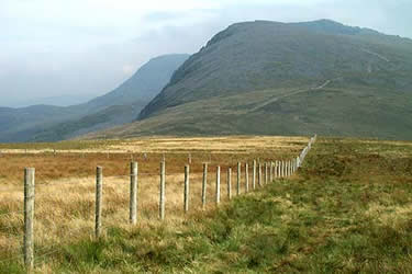 Photo from the walk - Cadair Idris from Llanfihangel-y-pennant