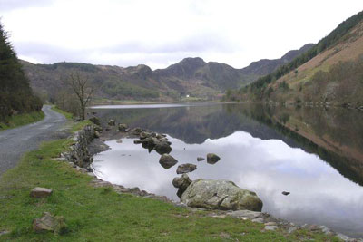 Photo from the walk - Crimpiau & Creigiau Gleision from Llyn Crafnant