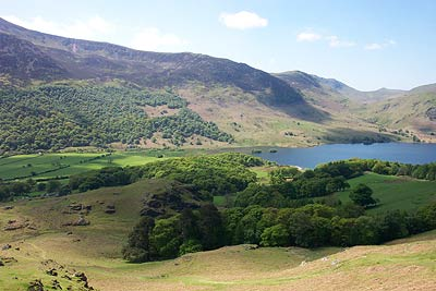 Photo from the walk - Crag Hill & Grasmoor from Buttermere