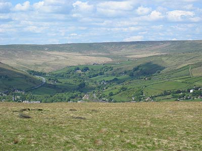 Photo from the walk - Boundary Walk from Marsden to Holmfirth