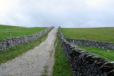 Photo from the walk - Sulber Gate & Crummack Dale from Austwick