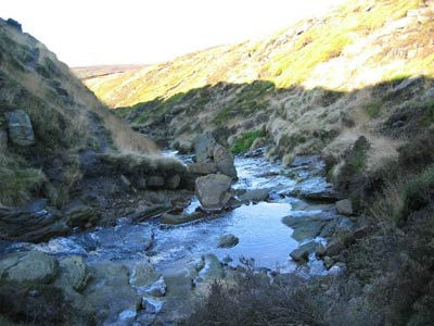 Photo from the walk - Torside Clough from Longdendale