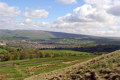 Photo from the walk - The edges of Combs Moss near Chapel-en-le-Frith