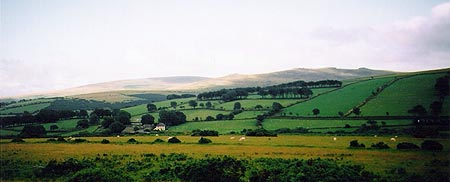 Cosdon Hill and Belstone Tor from East Hill