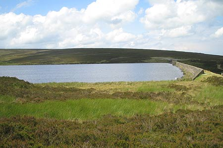 Photo from the walk - Keighley Moor Reservoir & Hitching Stone from Cowling