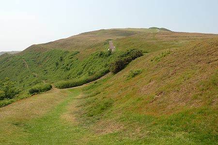 Photo from the walk - Herefordshire Beacon from British Camp car park