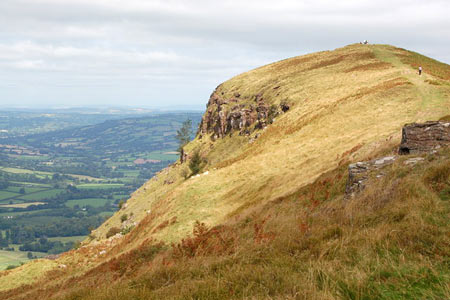 Photo from the walk - Ysgyryd Fawr (The Skirrid) near Abergavenny