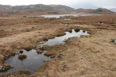 Photo from the walk - Eel Tarn and Stony Tarn from Eskdale