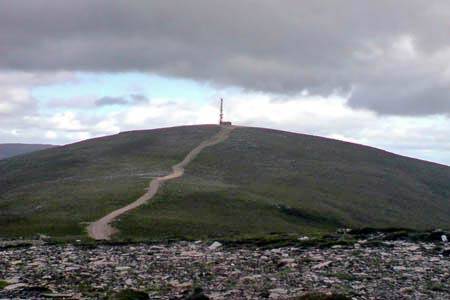 Morrone summit & radio station