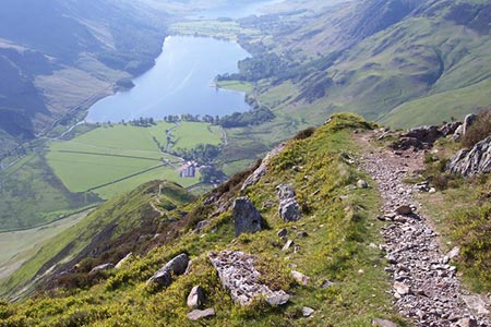 Photo from the walk - Fleetwith Pike and Buttermere Circular