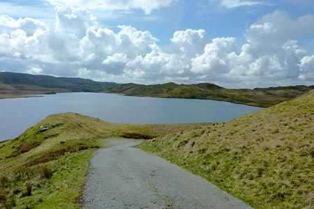 Photo from the walk - Teifi Pools from near Strata Florida