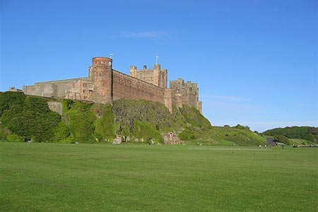 Photo from the walk - Budle Bay from Bamburgh