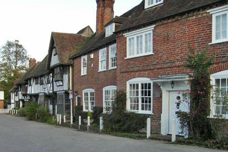 The village square at Chilham