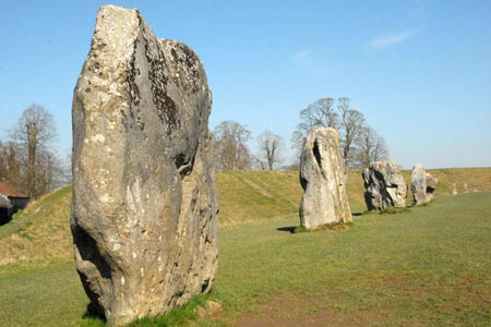 Photo from the walk - Avebury, West Kennett and Silbury Hill