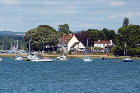 Photo from the walk - Dell Quay from Chichester Marina
