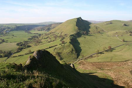 Photo from the walk - Parkhouse & Chrome Hills from Longnor