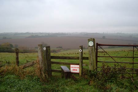 View between Long Buckby and Watford
