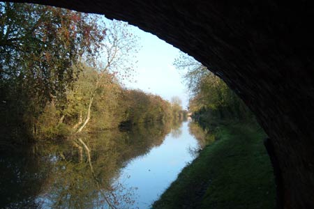 Peace and quiet on the Grand Union Canal near Long Buckby