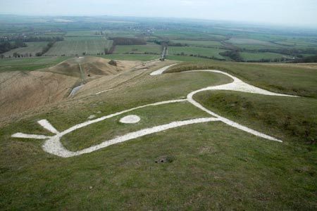 Photo from the walk - Uffington Castle, the White Horse and Wayland's Smithy