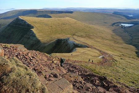 Photo from the walk - The High Peaks of the Brecon Beacons